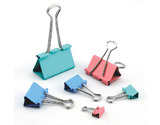 Binder Clips-Milky