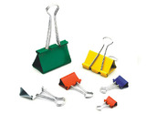 Binder Clips-Basic Color